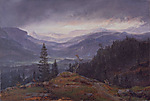 View over Hallingdal